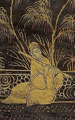 Cithare sur caisse yangqin - Musée de la musique
