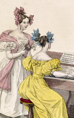 Costumes parisiens - Musée de la musique