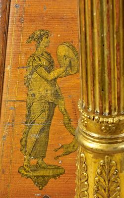 Harpe à double mouvement - Musée de la musique