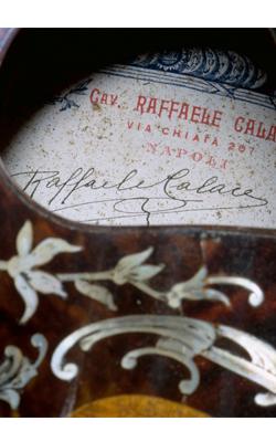MANDOLINE DE TYPE NAPOLITAIN - Musée de la musique