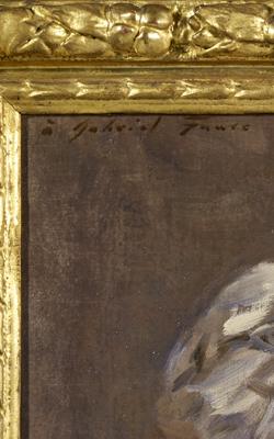 PORTRAIT DE GABRIEL FAURÉ (1845-1924) - Musée de la musique