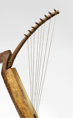 HARPE ARQUÉE NGOMBI - Musée de la musique