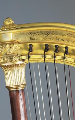 HARPE CHROMATIQUE - Musée de la musique