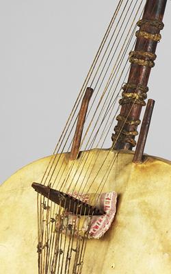 HARPE-LUTH KASSO (KORA) - Musée de la musique