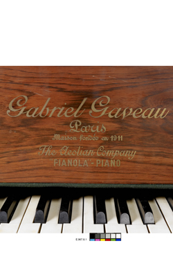 PIANO À QUEUE PNEUMATIQUE PIANOLA - Musée de la musique