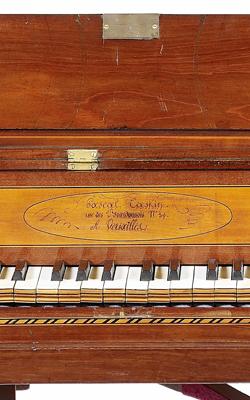 PIANO CARRÉ - Musée de la musique