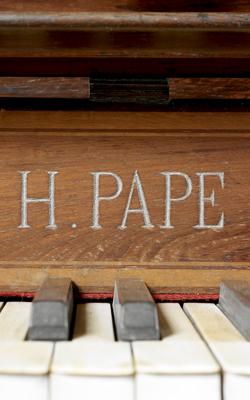 PIANO CONSOLE - Musée de la musique