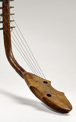HARPE KUNDI - Musée de la musique