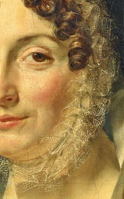 PORTRAIT DE MME FRÉDÉRIC BOULANGER (1786-1850) - Musée de la musique