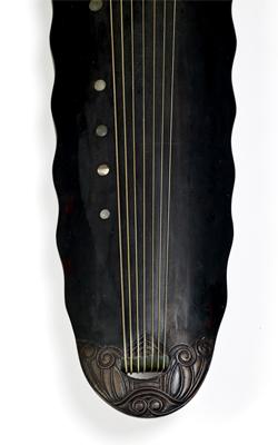 CITHARE QIN - Musée de la musique