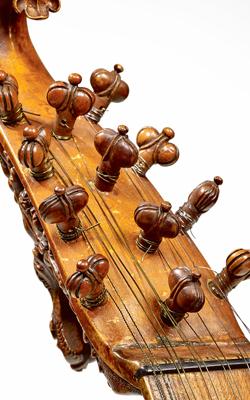 Cistre attribué à Virchi - Musée de la musique