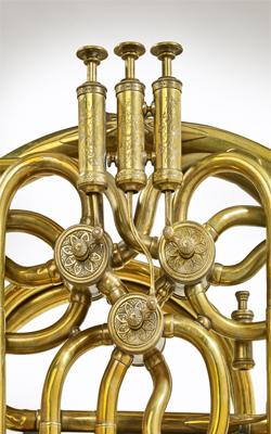 Cor à pistons Alphonse Sax - Musée de la musique