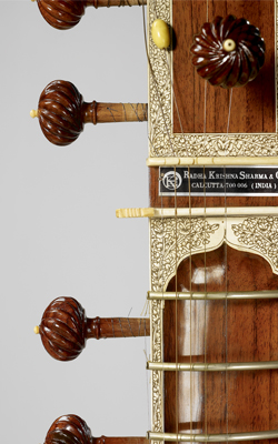 Luth sitar - Musée de la musique
