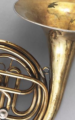 Cor d'harmonie à 3 barillets- Musée de la musique