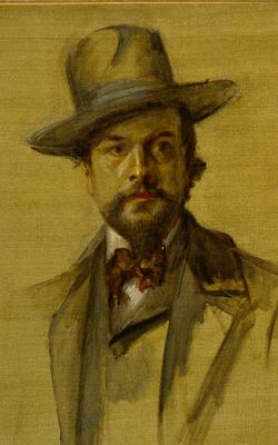 Portrait de Claude Debussy- Musée de la musique
