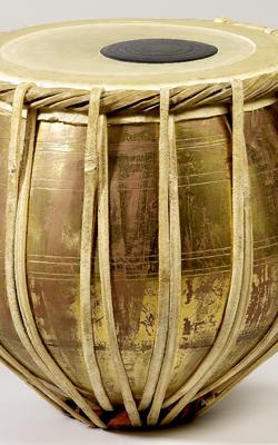 Timbale métallique bayan - Musée de la musique
