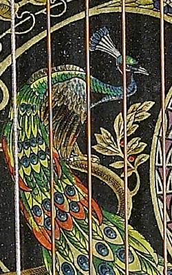 Cithare sur table - Musée de la musique