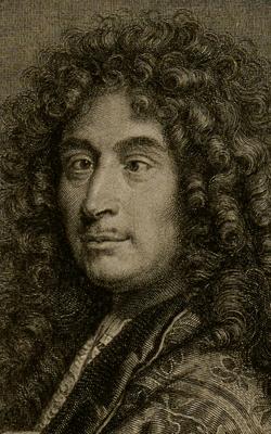 PORTRAIT DE JEAN-HENRI D'ANGLEBERT (1635-1691) - musée de la musique