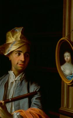 PPORTRAIT D'HOMME AVEC FLÛTE - musée de la musique