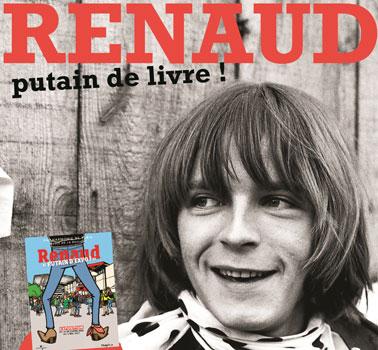 Catalogue de l'exposition Renaud à la Philharmonie de Paris