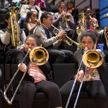 Répétition de l'orchestre passerelle Démos du soissonnais - 2016