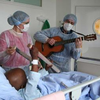Musique, hôpital, handicap