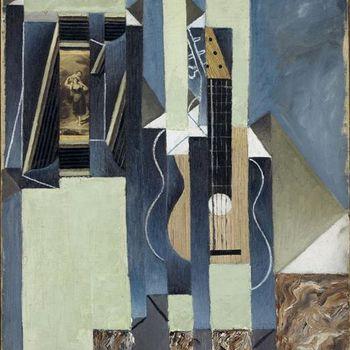 La guitare, de Juan Gris