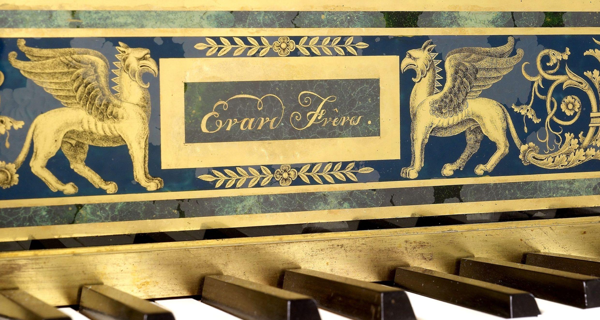 Piano carré, Maison Erard