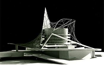 maquette du projet Xenakis/Véret. Crédit photo Sven Sterken