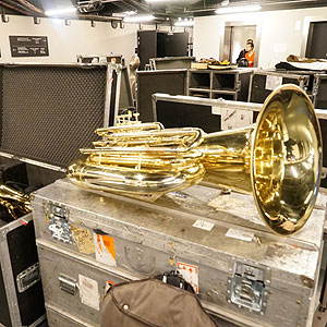 Backstage London Symphony Orchestra