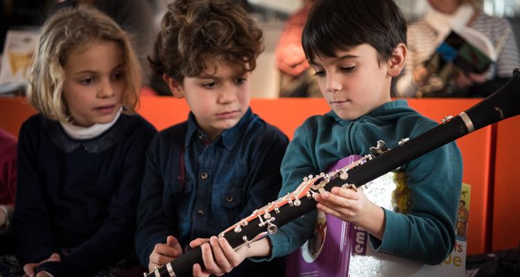 Balade autour d'un instrument - Médiathèque de la Philharmonie