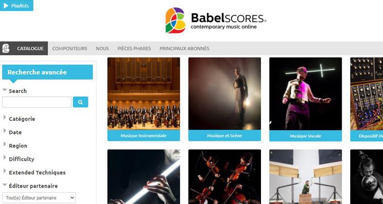 Abonnement BabelScores