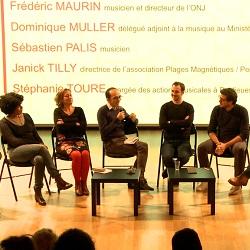 rencontre professionnelle : scène jazz : la création, moteur de l'action artistique et culturelle