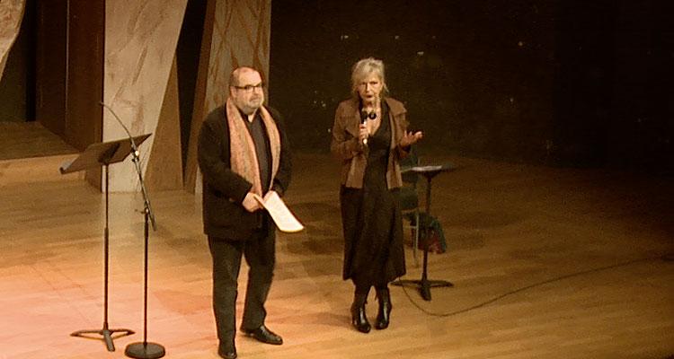 Rencontre réseaux des diffuseurs de jazz, Philippe Ochem et Chritiane Louis