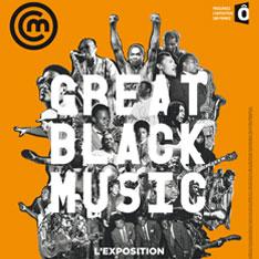 redécouvrir l'exposition great Black Music du musée -  Affiche de l'exposition © Cité de la musique