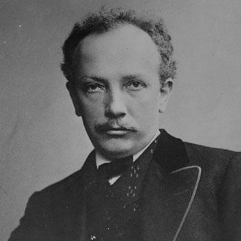 Portrait de Richard Strauss  