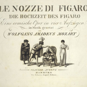 Les Noces de Figaro de Wolfgang Amadeus Mozart |