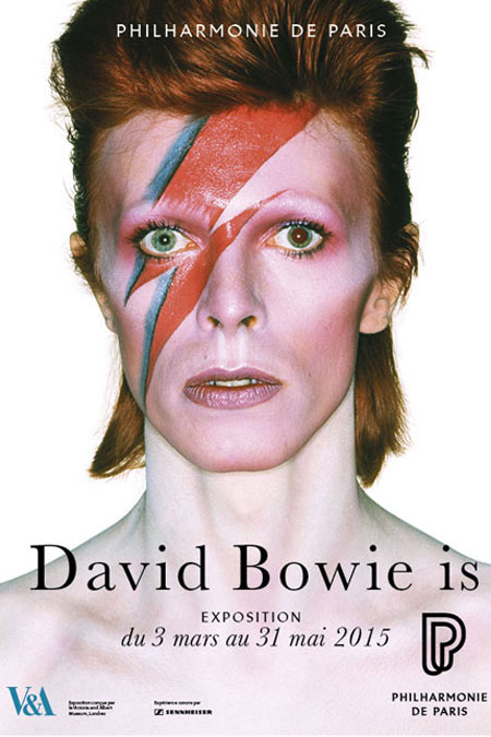 Exposition David Bowie is à la Philharmonie de Paris |