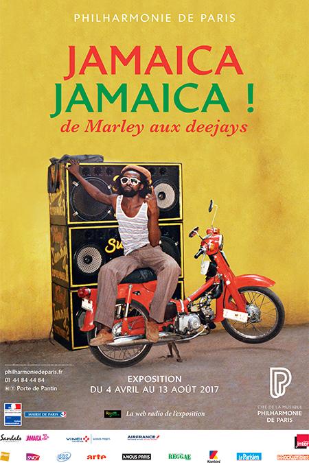 Jamaica Jamaica ! : de Marley aux Deejays. Exposition du 4 avril au 13 août 2017. |