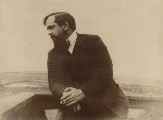 Claude Debussy à Pourville en 1904 © Gallica-BnF